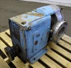 Used- Waukesha Rotary Positive Displacement Pump, Model 320, Stainless Steel.