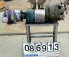 Used- Stainless Steel Waukesha Rotary Positive Displacement Pump, Model 60