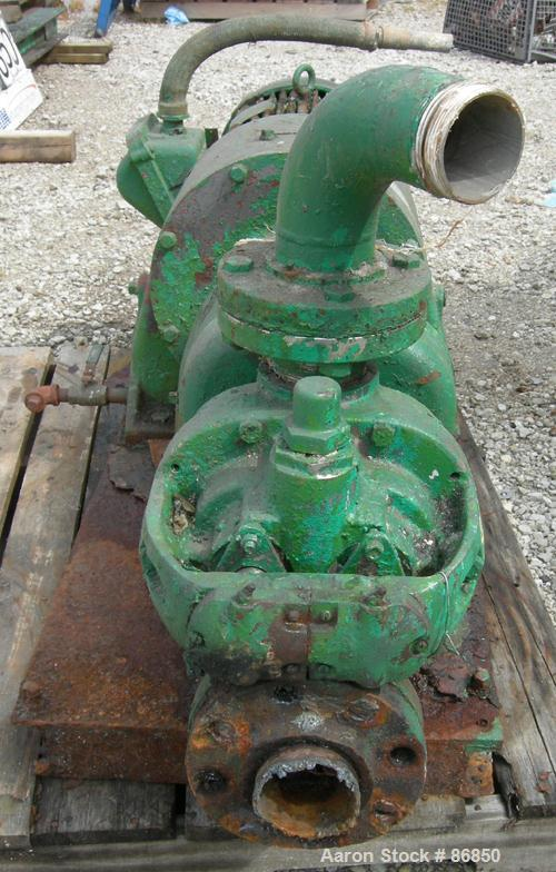 Used- Tuthill/Ulrich Rotary Positive Displacement Pump, Model 3A, 316 stainless steel. Approximate 66 gallons per minute cap...