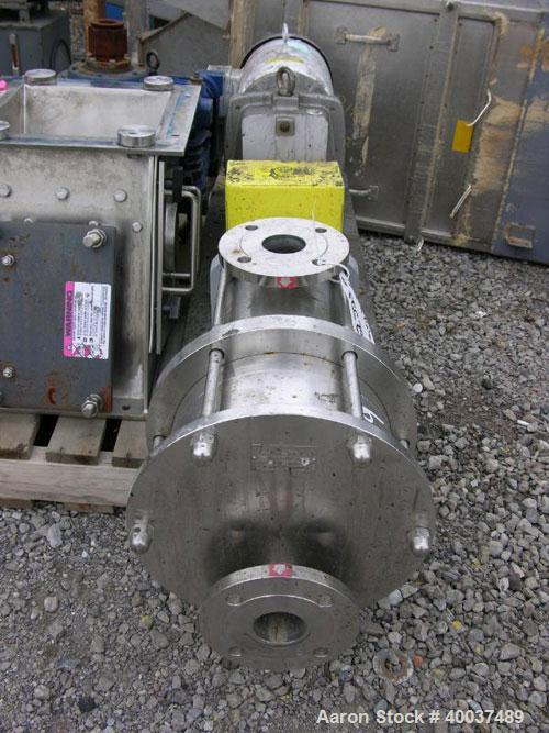 Used- Stainless Steel Blackmer Pump, Model C121-CVT