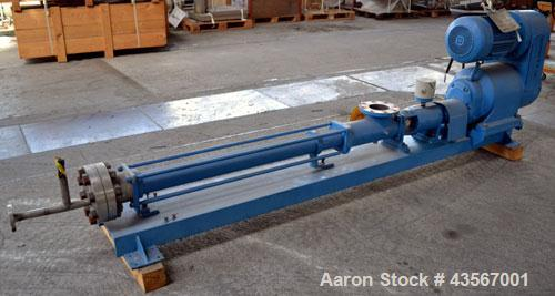 Used- Bornemann Progressive Cavity Pump, Model EP 280.3