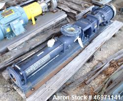 Unused- Seepex Progressive Cavity Pump, Model BN 17-6L. Driven by a 3hp, 460 volt, 1755 rpm gear motor, ratio 6.86 to 1. Ser...