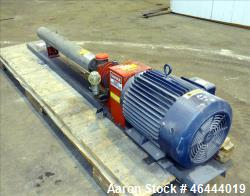 Used- Osmonics Tonkaflo Pump, Model SS5522E, 316 Stainless Steel. Flow rate 55 gallons per minute, boost rate 486 psi. Maxim...