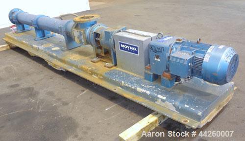 Used- Carbon Steel Moyno 2000 G1 Progressing Cavity Pump, Model 4H115G1 CDF-X XAX
