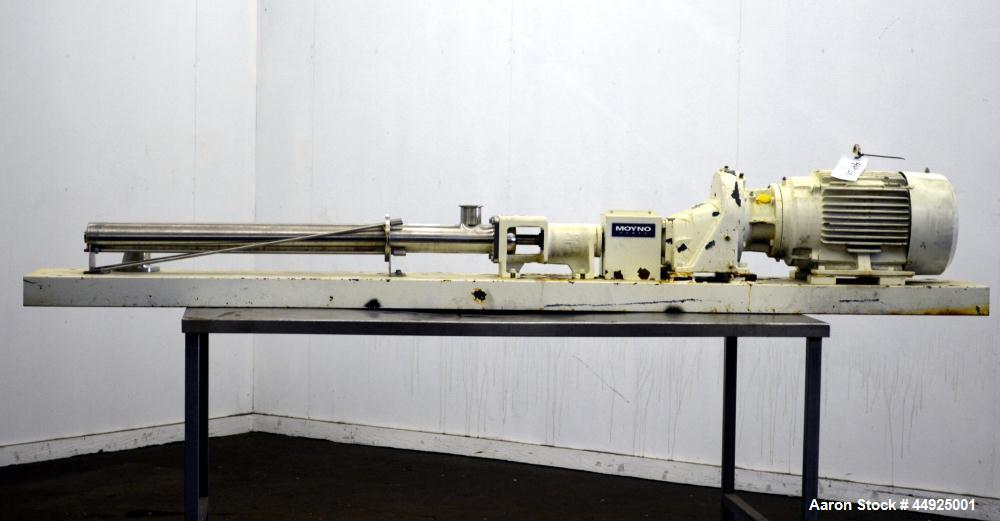 Used- Moyno Sanitary Processing Cavity Pump, Model Frame FB4E, Type SSB, Trim FAA