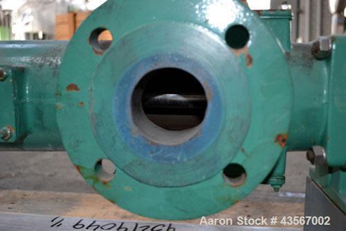 Used- Netzsch Progressive Cavity Pump, Type 2NE15A