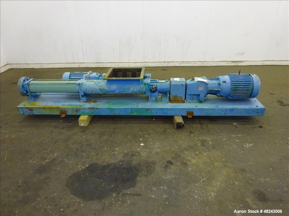 Used- Netzsch NESP Series Progressive Cavity Pump, Model 2NESP60A.
