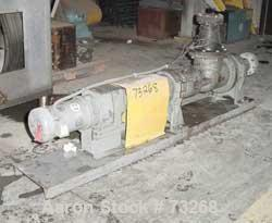 USED- Tarby Progressing Cavity Pump, Model 1TP8-CDB.Single stage, cast iron body, hardened steel internal parts, EPDM (70 Du...