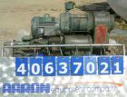 Used- Moyno Industrial Line Pump, Type SSF, Frame 3M1, Trim CAA QE, 316 stainless steel. Approximate 1