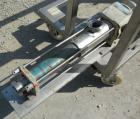 Used- Hansa Processing Cavity Pump, 316 Stainless Steel. (.75) Liter per minute. 3