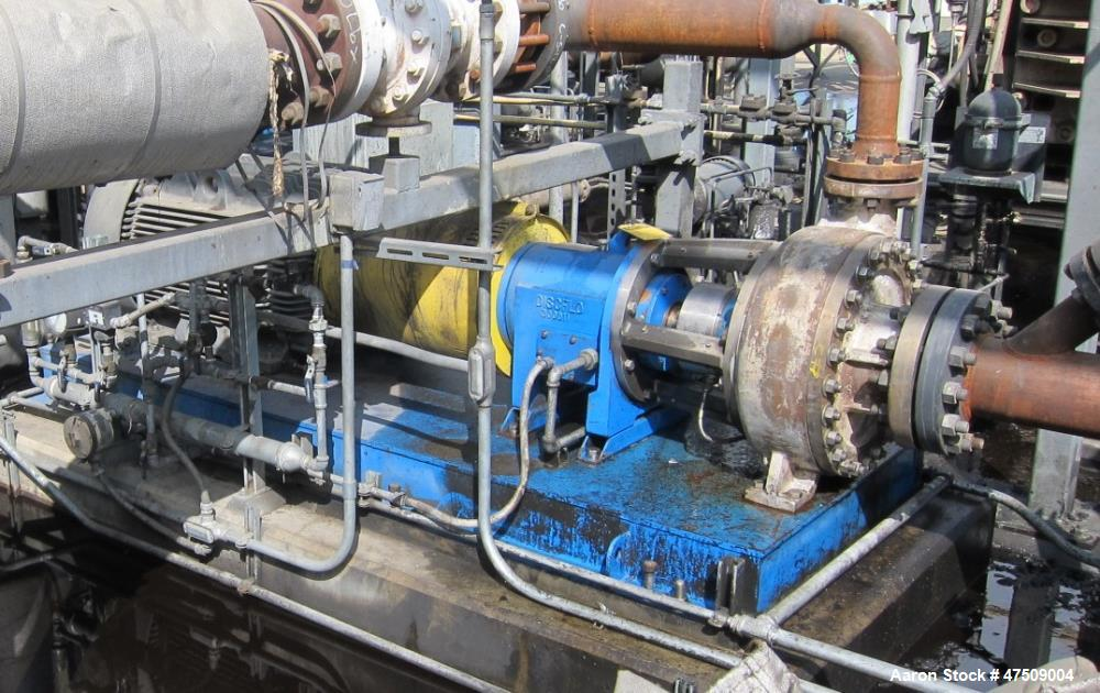 Used- Discflo Centrifugal Pump.  200 HP.