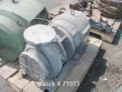 USED: Vacuum pump, driven by a 30 hp, 3/60/230/460 volt, 3520 rpmmotor.