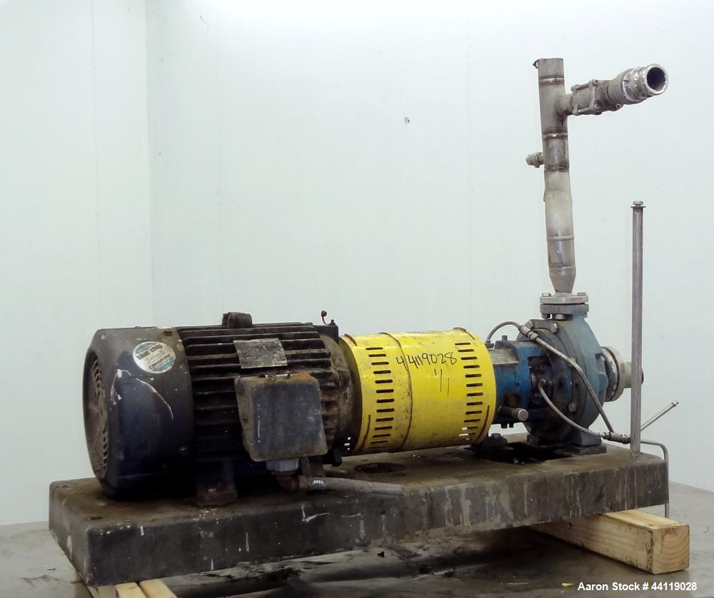 Used- Stainless Steel Griswold Centrifugal Pump