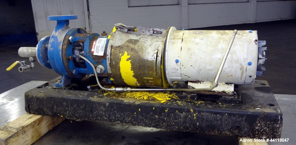 Used- Stainless Steel Griswold Centrifugal Pump,