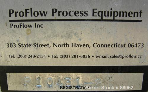 Used- Stainless Steel Ahlstrom Centrifugal Pump