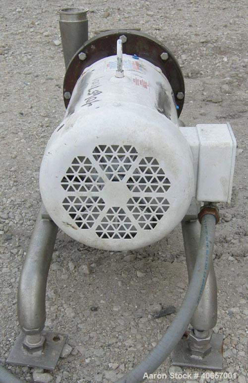 Used- Stainless Steel Ampco Centrifugal Pump, Model DC2 2 1/2X2