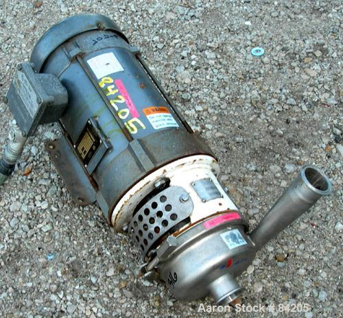 Used- Stainless Steel APV Centrifugal Pump, Model W20/20