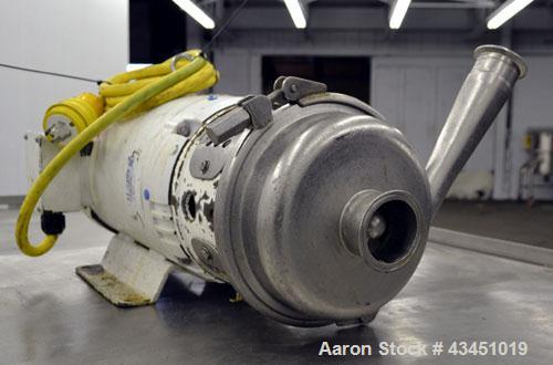 Used- Stainless Steel APV W Series Centrifugal Pump, Model W30/25