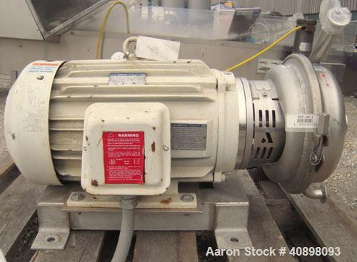 Used- Stainless Steel APV Centrifugal Pump, Model W+70/40