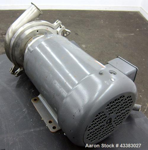 Used- Stainless Steel Cherry Burrell Centrifugal Pump, Model 206500680