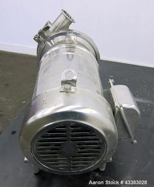 Used- Stainless Steel Cherry Burrell Centrifugal Pump, Model 206500580