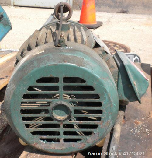 Used- Stainless Steel Cherry Burrell FlexfloClose-Coupled Centrifugal Pump, model 4AHE-F
