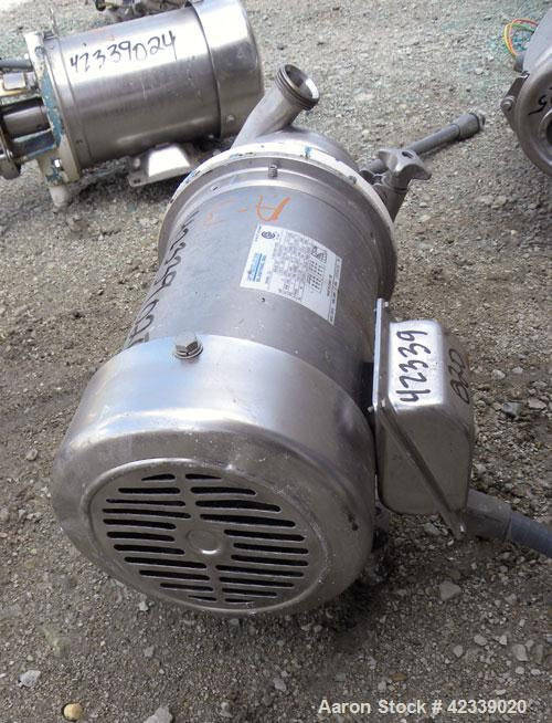 Used- Stainless Steel Cherry-Burrell Flexflo Centrifugal Pump, Model 4AHK-F