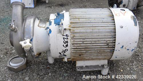 Used- Stainless Steel Cherry-Burrell Flexflo Centrifugal Pump, Model VBH-F