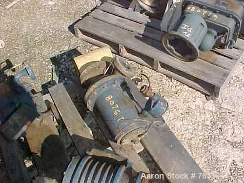 USED: Crane centrifugal chem pump, model GVBS-3K-1S. 316 stainless steel, 1.5 kw drive.