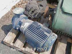 USED: Dresser vacuum pump, driven by a 20 hp, 3/60230/460 volt motor.