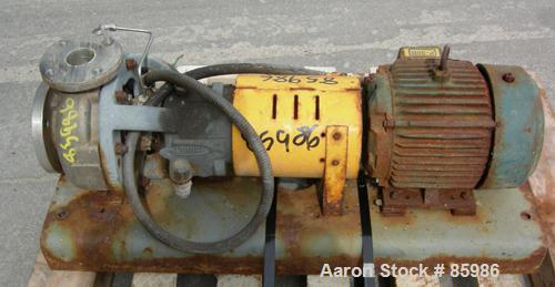 Used- Stainless Steel Durco Centrifugal Pump