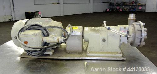 Used- Stainless Steel Fristam Single Stage High Pressure Centrifugal Pump, Model FPHP3542-205