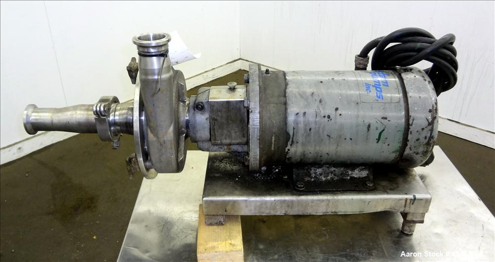 Used- Stainless Steel Fristam Centrifugal Pump, Model FPX3531-165