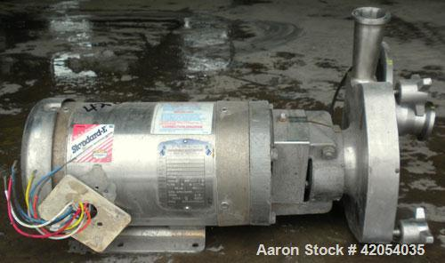 Used- Stainless Steel Fristam Centrifugal Pump, model FPX731-155
