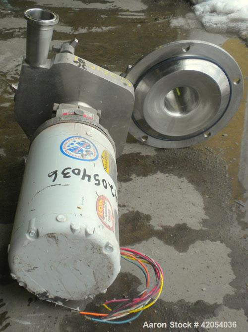 Used- Stainless Steel Fristam Sanitary Centrifugal Pump, model FPX741-205