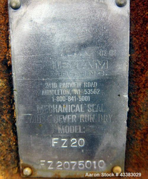 Used- Stainless Steel Fristam Self-Priming Centrifugal Pump, Model FZ20