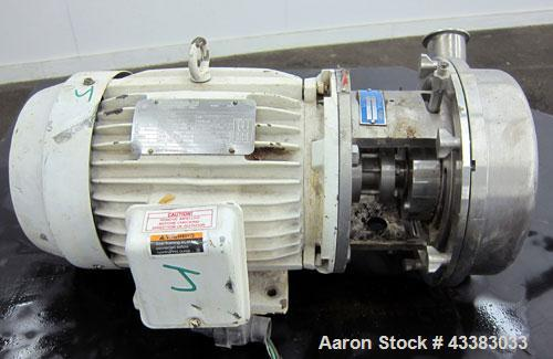 Used- Stainless Steel G & H Centrifugal Pump, Model GHH-20