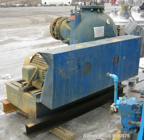 USED: Gorman Rupp T Series self-priming centrifugal pump, model T-10A65-B, CD4MCu stainless steel. Approximately 3400 gallon...