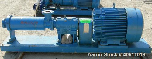 Used- Stainless Steel Goulds Low Flow/ High Head Multi-Stage Centrifugal Pump, model 3335