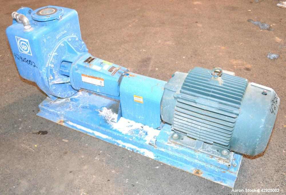 Used- Stainless Steel Goulds Prime Line Self-Priming Centrifugal Pump, Model 3SS2EL