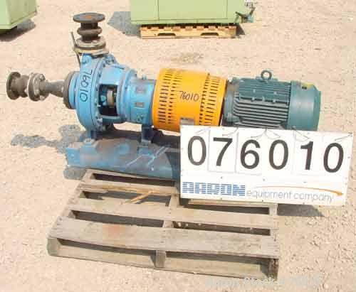 Used- Goulds Centrifugal Pump, Model LF3196