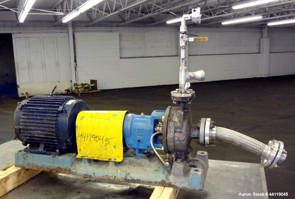 Used- Stainless Steel Goulds Centrifugal Pump