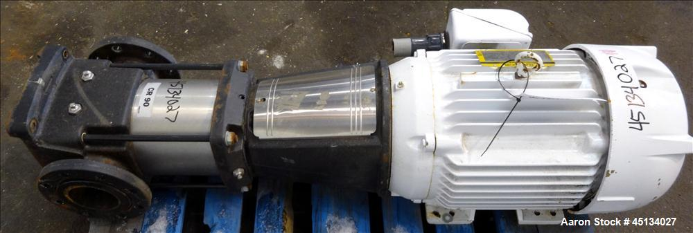 Used- Grundfos Vertical Multistage Centrifugal Pump, Model CR90