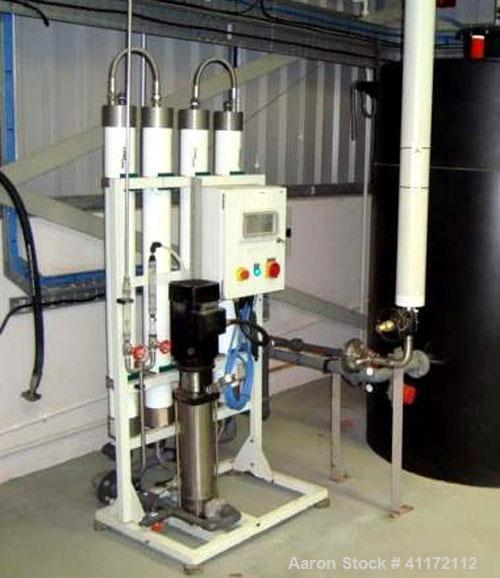 Used- Grundfos Vertical Multistage Centrifugal Pump, Model CRN4.