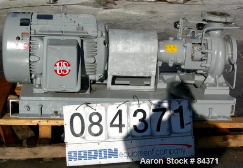 Used-Unused- Stainless Steel KSB Centrifugal Pump, Model HPK-E4 100-200