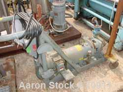 "USED- Labour Centrifugal Pump, Model AAHPLVA, Hastelloy C22 Construction. 1 1/2"" diameter inlet, 1"" outlet. 5"" diameter impe..."