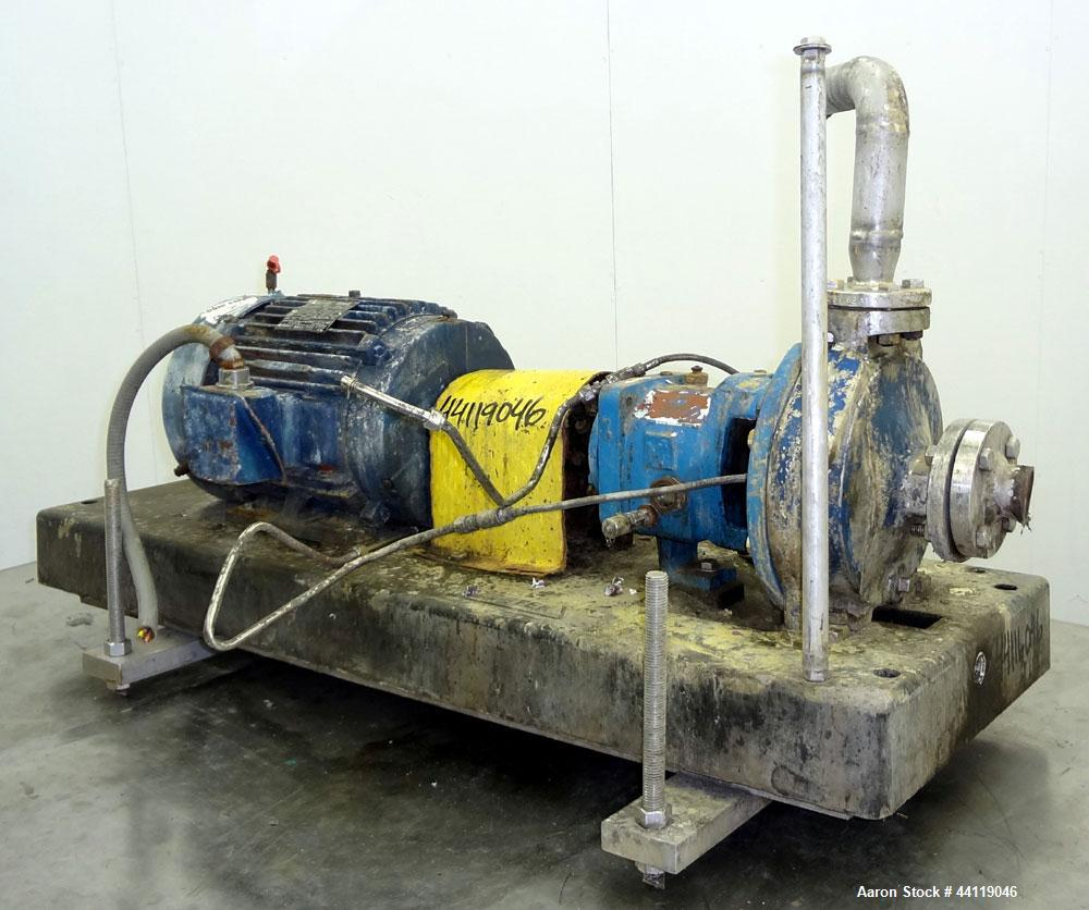 Used- Stainless Steel M2 Centrifugal Pump