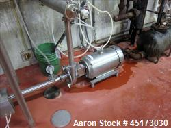 Used- Fristam Stainless Steel Centrifugal Pump, Model FPR3532