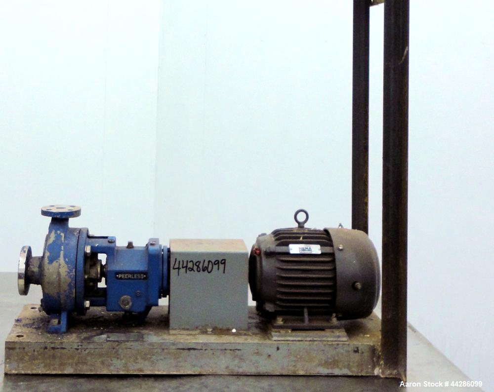 Used- Stainless Steel Werner Pump Company Centrifugal Pump, Model 8196