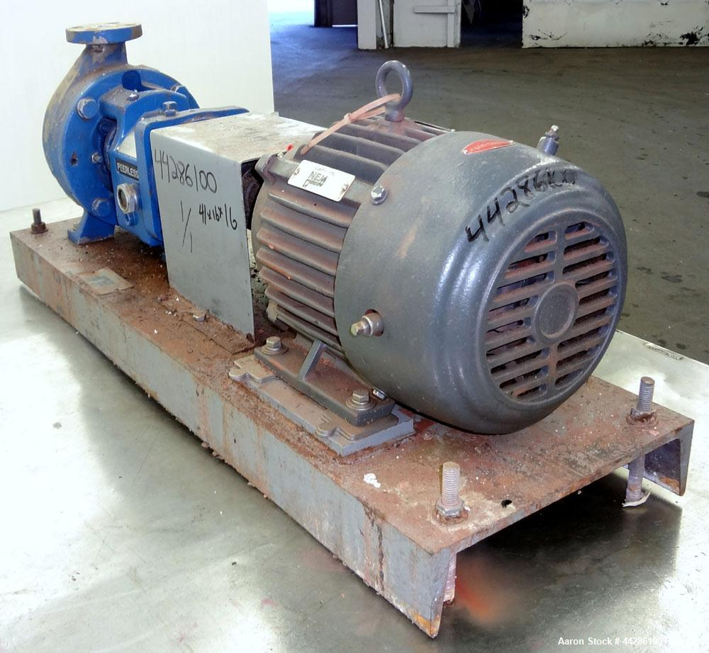 Used- Stainless Steel Peerless Werner Pump Company Centrifugal Pump, Model 8196